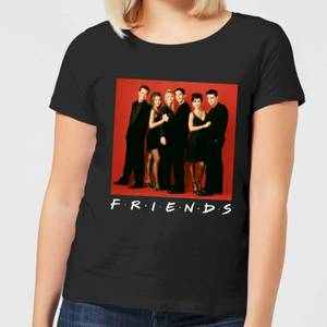 Friends Character Pose Damen T-Shirt - Schwarz