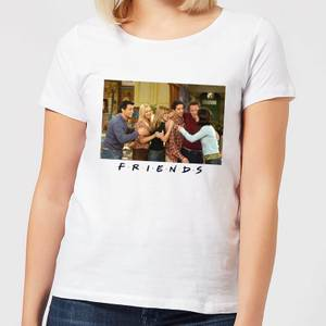 Friends Cast Shot Women's T-Shirt - White