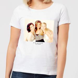 Friends Girls Damen T-Shirt - Weiß