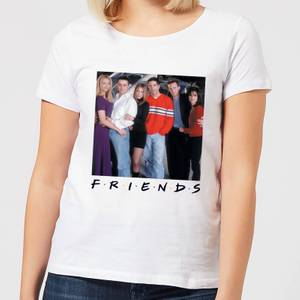 Friends Cast Pose Damen T-Shirt - Weiß