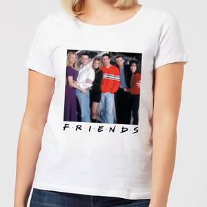 Friends Cast Pose Women's T-Shirt - White