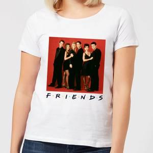 Friends Character Pose Women's T-Shirt - White