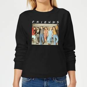 Friends Retro Character Shot Women's Sweatshirt - Black