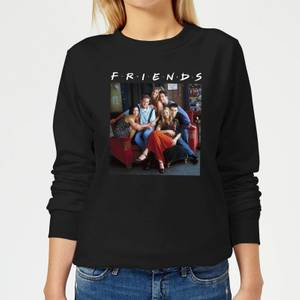 Friends Classic Character Women's Sweatshirt - Black