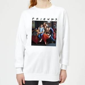 Friends Classic Character Women's Sweatshirt - White