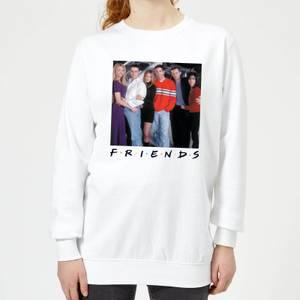 Friends Cast Pose Women's Sweatshirt - White