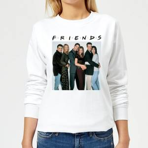 Friends Group Shot Women's Sweatshirt - White