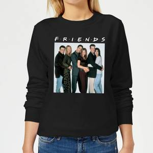 Friends Group Shot Women's Sweatshirt - Black