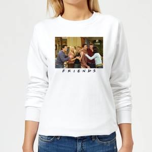 Friends Cast Shot Women's Sweatshirt - White