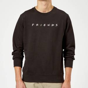 Friends Logo Sweatshirt - Black