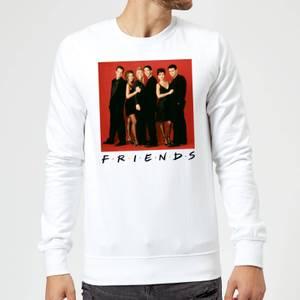 Friends Character Pose Sweatshirt - White