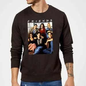 Friends Vintage Character Shot Sweatshirt - Black