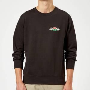 Friends Central Perk Coffee Cups Sweatshirt - Black