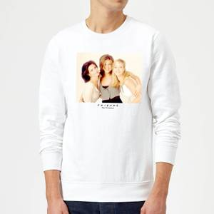 Friends Girls Sweatshirt - White