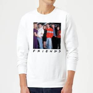 Friends Cast Pose Sweatshirt - White