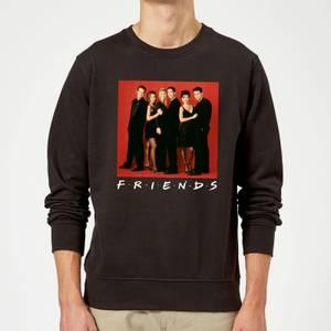 Friends Character Pose Sweatshirt - Black
