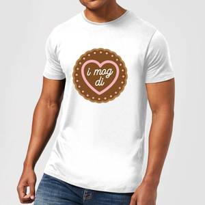 I Mog Di Men's T-Shirt - White