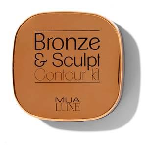 MUA Luxe Bronze & Sculpt Contour Kit - Light/Medium