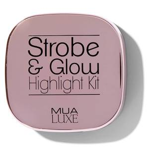 MUA Luxe Strobe & Glow Highlight Kit - Pink Lustre