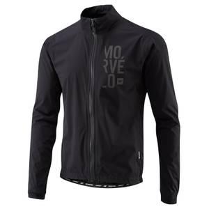 Morvelo Stealth Hydrologic Road Rain Jacket - Black