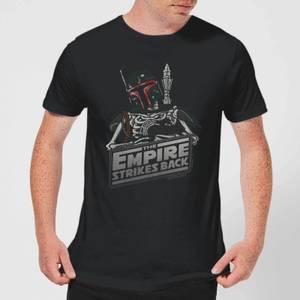 Star Wars Classic Boba Fett Skeleton Herren T-Shirt - Schwarz