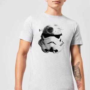 T-Shirt Homme Command Stormtrooper Étoile de la Mort Star Wars Classic - Gris