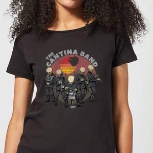 T-Shirt Femme Cantina Band Star Wars Classic - Noir