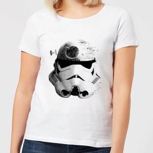Star Wars Command Stromtrooper Death Star Women's T-Shirt - White