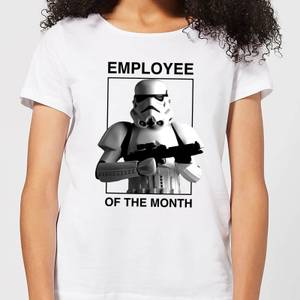 Camiseta Star Wars Employee Of The Month - Mujer - Blanco