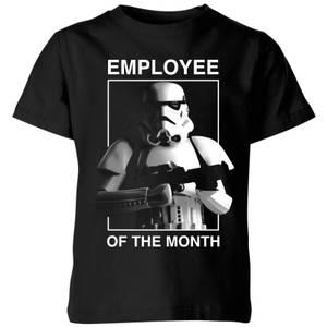 Star Wars Employee Of The Month Kids' T-Shirt - Black