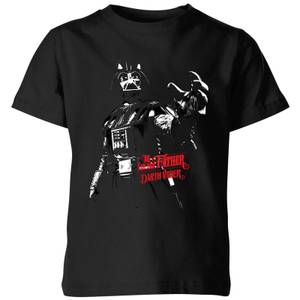 T-Shirt Star Wars Darth Vader I Am Your Father - Nero - Bambini
