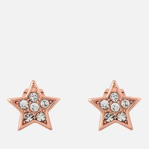 Ted Baker Women's Safire Pavé Shooting Star Stud Earrings - Rose Gold/Crystal