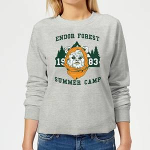 Star Wars Endor Camp Women's Sweatshirt - Grey