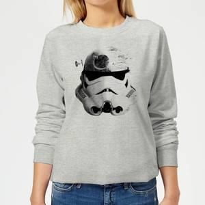 Star Wars Command Stromtrooper Death Star Women's Sweatshirt - Grey