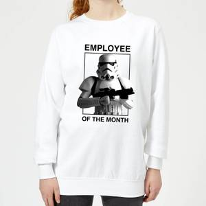 Star Wars Employee Of The Month Women's Sweatshirt - White