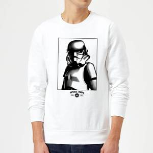 Star Wars Imperial Troops Sweatshirt - White