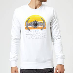 Star Wars Sunset Tie Sweatshirt - White