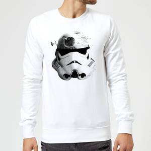 Star Wars Command Stromtrooper Death Star Sweatshirt - White