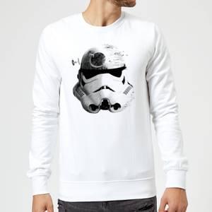 Felpa Star Wars Command Stromtrooper Death Star- Bianco