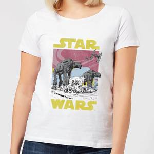 Star Wars ATAT Women's T-Shirt - White