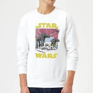 Felpa Star Wars ATAT- Bianco