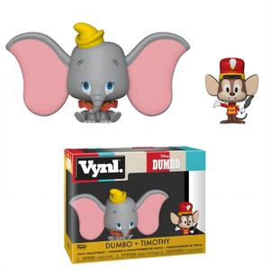 Figuras Funko Vynl. Dumbo y Timothy