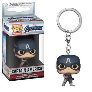 Marvel Avengers: Endgame Captain America Funko Pop! Keychain