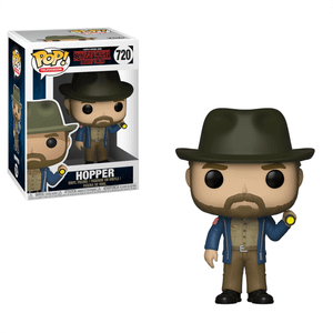Stranger Things Hopper with flashlight Funko Pop! Vinyl