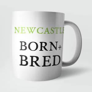 Newcastle Born and Bred Mug