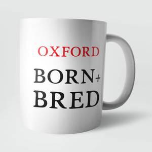 Oxford Born and Bred Mug
