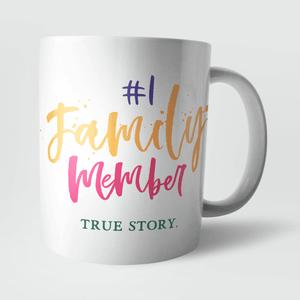Number 1 Family Member Mug