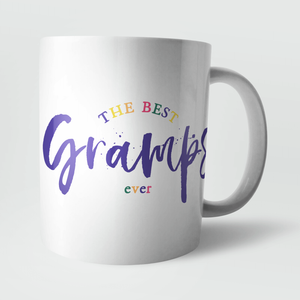 The Best Gramps Ever Mug