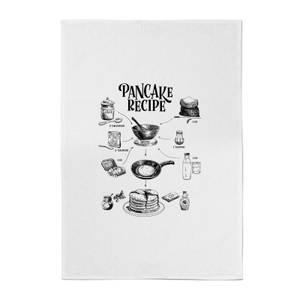 Pancake Recipe Cotton Tea Towel