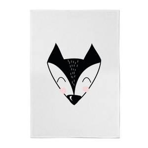 Fox Cotton Tea Towel
